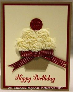 Cupcakes for everyone - calorie free! by madameplushbottom - Cards and Paper Crafts at Splitcoaststampers