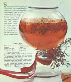 Want to make something special for Christmas?    Try some Vintage Recipes from 1965 These vintage recipes are from the McCall's Book of Merry Eating 1965. I hope you try some of the recipes and tha...