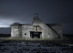 Jonathan Andrew - Abandoned Bunkers - Location: The Netherlands, France and Belgium