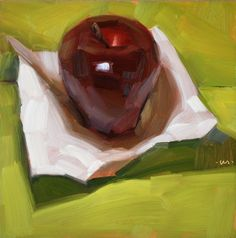 Carol Marine's Painting a Day: Appleweight