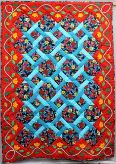 Helene Truschner quilt | Patchwork Gilde Austria | Seite 2 Quilt Sets, Quilt Blocks, Quilting Projects, Quilting Designs, Applique Quilt Patterns, Cute Quilts, Traditional Quilts, Quilt Design, Quilted Wall Hangings