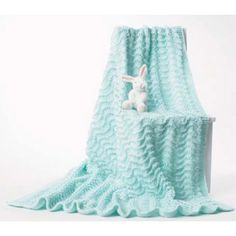 Mary Maxim - Free Baby Blanket Knit Pattern - Free Patterns - Patterns  Books