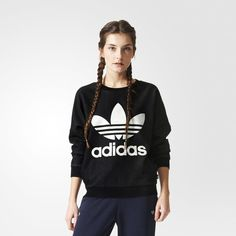 858cc8dbf02e3 adidas Track Sweatshirt - Multicolor   adidas US Urban Fashion, Denim  Shorts, Sweatshirts,