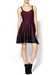 love this... free people foil ombre lace dress