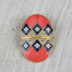 Faberge Egg Pin/ Pendant