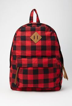 Classic Plaid Backpack | Forever 21 | #f21accessorize