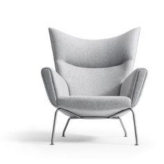 Wegner-Sessel Wingchair CH 445 von Wegner im Designlager Dülmen