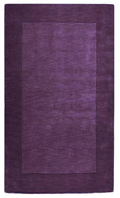 Great Dark Purple Area Rug For Living Room. #rugs #decor