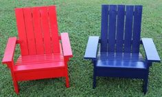 Child adirondack chairs diy