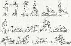Nyújtó gyakorlatok kezdőknek, lazító edzés képekkel - stretching - 1