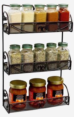 *pinitforlater *findoutmore studio apartment storage.   Multi-purpose elegant rack for spice bottles #studioapartmentstorage