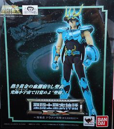 NEW NRFB Saint Seiya Bronze Cloth EX DRAGON SHIRYU Figure JAPAN Free Shipping