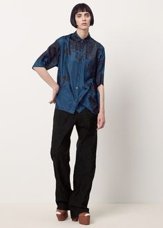 Dries Van Noten Picabo Pants (Black)