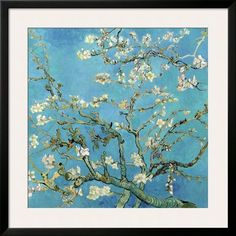 Almond Branches in Bloom, San Remy, c.1890 Print by Vincent van Gogh at Art.com