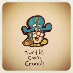 Turtle Cap'n Crunch #turtleadayjuly - @turtlewayne- #webstagram