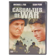 CASUALTIES of WAE DVD Staring: Michael J Fox, Sean Penn Genre: War/Crime Film Synopsis: Pvt. Max Eriksson (Michael J. Fox) is stationed in Vietnam under Sgt. Tony Meserve (Sean Penn). Though Meserve saves Eriksson's life during battle, the two men clash when the callous senior officer orders the abduction of Than Thi Oanh (Thuy Thu Le), a young Vietnamese woman, to be used as a sex slave. When Eriksson refuses to take part in the abuse of Oanh, tensions between him, Meserve and the rest of…
