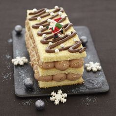 Bûche de Noël au Nutella | #dessert #cuisine #recette #noël #Christmas | Plurielles.fr