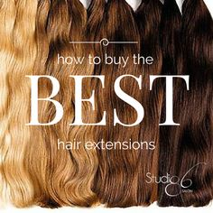 How to Buy the Best Hair Extensions Studio86Salon