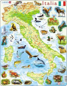Cartina muta fisica e politica dell 39 italia da stampare - Mappa dell inghilterra per i bambini ...
