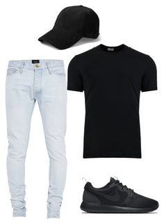 """""""Untitled #198"""" by camibg on Polyvore featuring Dolce&Gabbana, Fear of God, rag & bone, NIKE, men's fashion and menswear"""