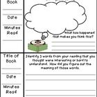 Weekly Reading Response Logs Grouped by Reading Strategies  -inferring  -summarizing  -questioning  -determining importance  -synthesizing  -making connections  -visualizing