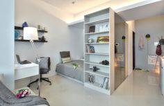 Small Taipei Studio Apartment With Clever Efficient Design   iDesignArch   Interior Design, Architecture & Interior Decorating eMagazine