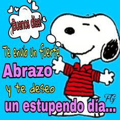 Buenos días Good Morning Snoopy, Good Morning Funny, Good Morning Friends, Morning Humor, Good Morning Quotes, Morning Thoughts, Good Day Messages, Good Day Wishes, Friendship Symbol Tattoos