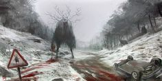 We should take the other road by nachoyague on deviantART