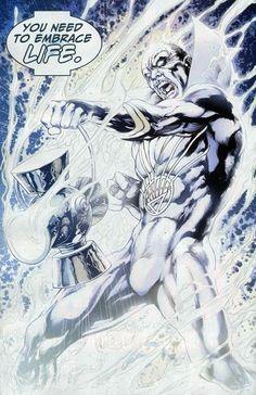 White Lantern Boston Brand (Deadman) by Ivan Reis White Lantern Corps, White Lanterns, Comic Books Art, Comic Art, Green Lantern Sinestro, Black Superman, Dc Comics Characters, Dark Fantasy Art, Comic Covers