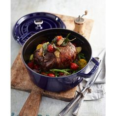 staub enameled cast iron 4 qt shallow wide round cocotte 260 liked cast iron dutch ovendutch - Staub Dutch Oven