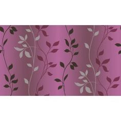 CHR34089 Sullivan Purple Ombre Vine Trail Wallpaper Wallpaper