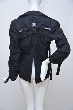 Junya Watanabe Comme Des Garcons  Runway Parachute Jacket 2002, back