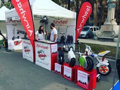 See you in #expoelectric! Trial all of Airwheel electric scooter!