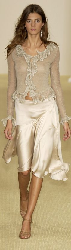 Ralph Lauren, Spring/Summer Ready to Wear Fashion Moda, Love Fashion, High Fashion, Fashion Looks, Womens Fashion, Fashion Design, Mode Chic, Mode Style, Couture Fashion