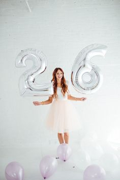 Jackie from Little J Style recently celebrated her birthday and used our giant, beautiful mylar number balloons! Find the number balloons here in our shop! 26th Birthday, Golden Birthday, Happy Birthday Me, Birthday Celebration, Birthday Wishes, Girl Birthday, Birthday Ideas, Sweet 16 Pictures, Photography