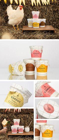 Gårdsis -Norweigan ice cream Förpackad -Blogg om Förpackningsdesign, Förpackningar, Grafisk Design - CAP&Design