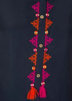 Terrific Pictures Embroidery Designs for kurtis Strategies Embroidery is actual. Terrific Pictures Embroidery Designs for kurtis Strategies Embroidery is actually a stunning appro Embroidery On Kurtis, Kurti Embroidery Design, Embroidery Neck Designs, Hand Embroidery Videos, Embroidery Flowers Pattern, Embroidery On Clothes, Hand Work Embroidery, Simple Embroidery, Hand Embroidery Stitches