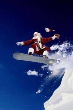 Don't loose your hat Santa! Merry Christmas from Outside Sports.