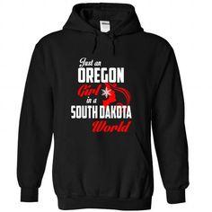 OREGON-SOUTH DAKOTA Girl 05Red - #country shirt #hoodies womens. CHEAP PRICE:  => https://www.sunfrog.com/States/OREGON-2DSOUTH-DAKOTA-Girl-05Red-Black-Hoodie.html?id=60505