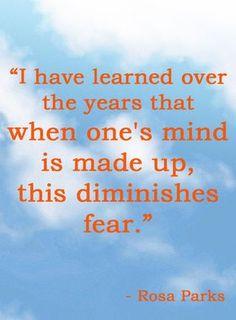 Rosa Parks #blackhistorymonth #quotes