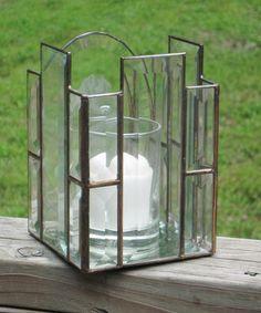 Bevel candle holder