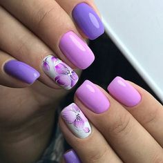 Hey there lovers of nail art! In this post we are going to share with you some Magnificent Nail Art Designs that are going to catch your eye and that you will want to copy for sure. Nail art is gaining more… Read more › Cute Nails, Pretty Nails, My Nails, Soft Nails, Pretty Nail Designs, Best Nail Art Designs, Spring Nail Art, Spring Nails, Nail Deco
