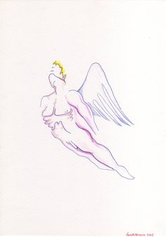 Vintage sweet angel boy by MushroomBrain.deviantart.com on @deviantART