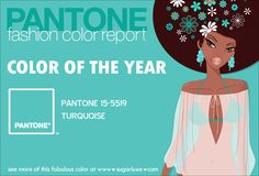 Pantone Fashion Home Decor Color of the Year | Turquoise