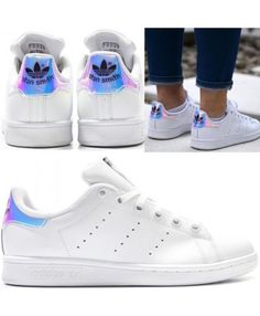 Adidas Stan Smith Blanche Iridescent Chaussures