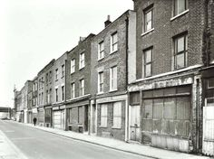 1950s Cannon St Rd Vintage London, Old London, Irish Catholic, Tower Hamlets, East End London, London History, London Places, Shop Fronts, Saint George