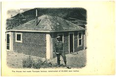 Tonopah, NV - Bottle House Post Card
