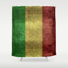The National flag of the Republic of Mali Shower Curtain by LonestarDesigns2020 - Flags Designs + - $68.00
