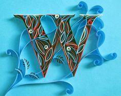 Beautiful Paper Typography Made by Sabeena Karnik - VUDESK