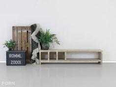 Steigerhout TV meubel Mees, gemaakt met stoere details!